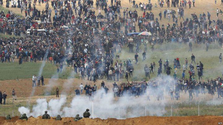 """اللجنة العليا لمسيرة العودة تدعو لمشاركة واسعة في """"جمعة عمال فلسطين"""""""