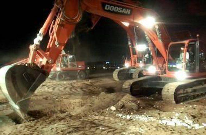 الاحتلال يستولي على حفار آبار في الأغوار الشمالية