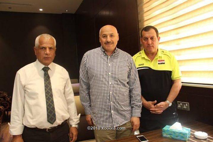 مدرب العراق: اللاعب الفلسطيني موهوب وشجاع