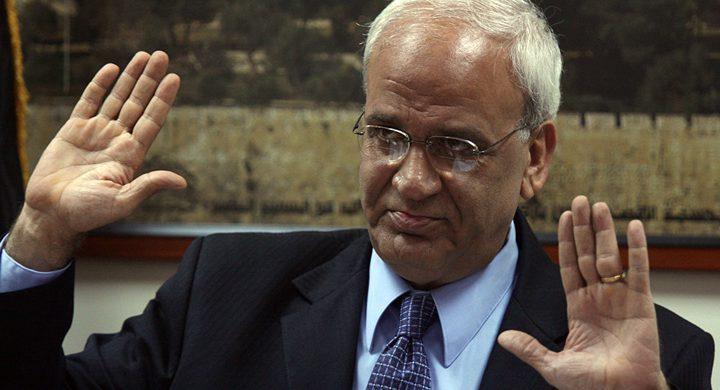 عريقات يطالب بمقاطعة افتتاح السفارة الأميركية في القدس