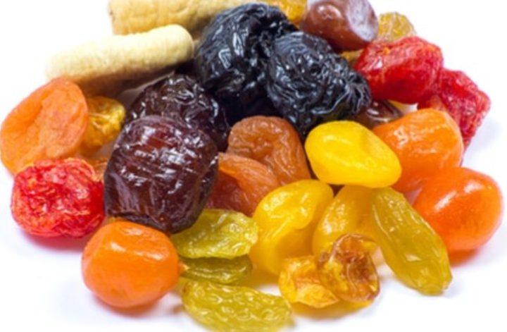 الفواكه المجففة سرَ الصحة في رمضان