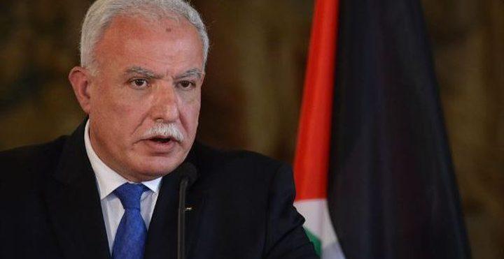 المالكي: الاحتلال يصور مراسم نقل السفارة كأنه حدث تاريخي