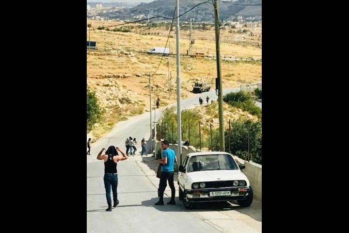اندلاع مواجهات مع الاحتلال شرق بيت لحم