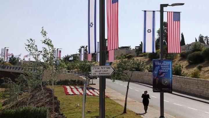 الاحتلال ينهي تحضيرات افتتاح السفارة بالقدس