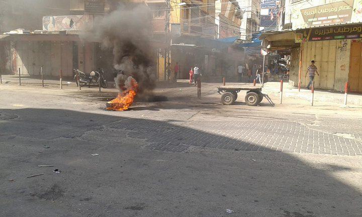 اضراب شامل في غزة