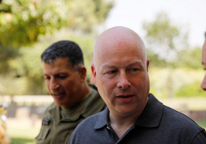 غرينبيلات: نقل السفارة الأمريكية إلى القدس شرط ضروري لتحقيق السلام وخطوة طال انتظارها