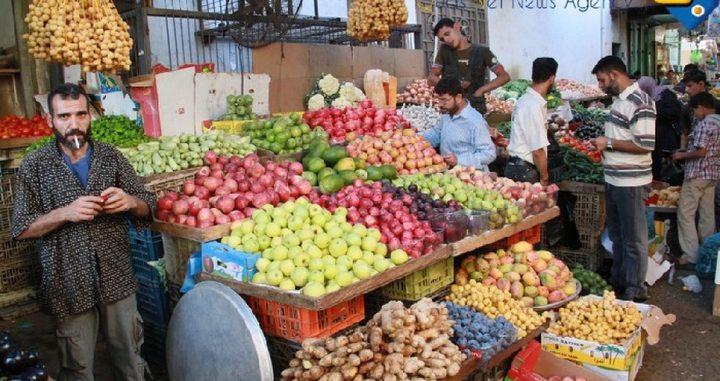 الإحصاء: ارتفاع مؤشر غلاء المعيشة خلال شهر نيسان
