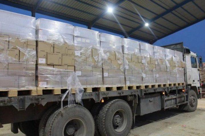 عواد: نعمل على إدخال 7 شاحنات أدوية الى قطاع غزة