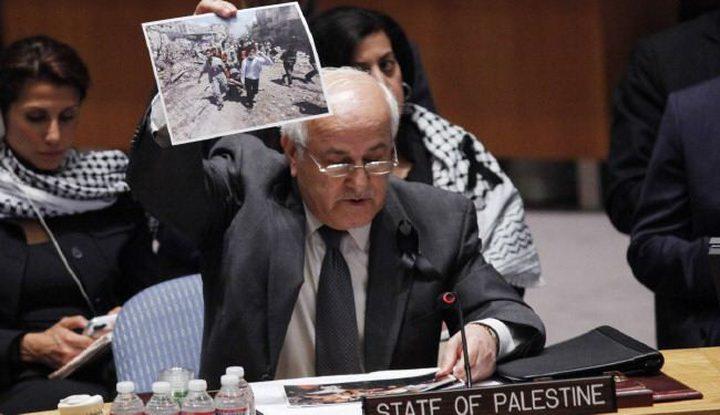 فلسطين تبعث بـ3 رسائل دولية لوقف المذبحة الإسرائيلية