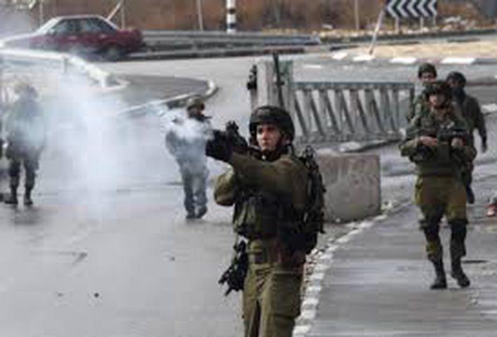 اصابتان برصاص الاحتلال