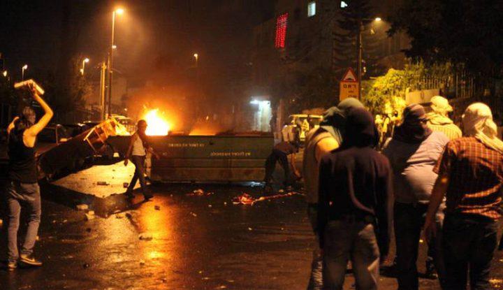 إصابات واعتقالات في مواجهات عنيفة بمخيم شعفاط وأبو ديس