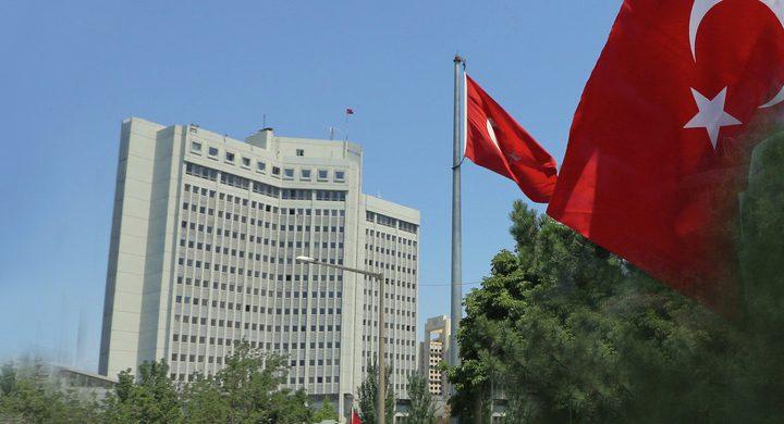 تركيا تطلب من السفير الإسرائيلي في أنقرة مغادرة البلاد