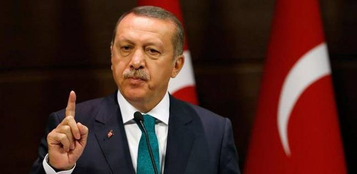 """اردوغان: اسرائيل """"دولة عنصرية"""" ونتنياهو """"يداه ملطختان بدماء"""" الفلسطينيين"""