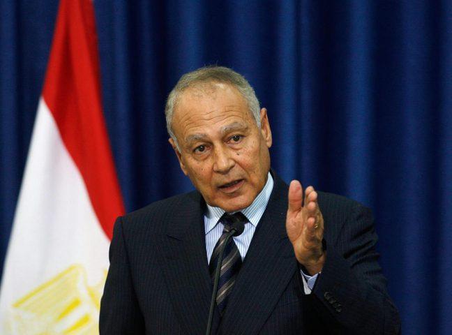 """الامين العام للجامعة العربية يعتبر ان """"المذابح"""" بحق الفلسطينيين ترقى """"الى جرائم حرب"""""""