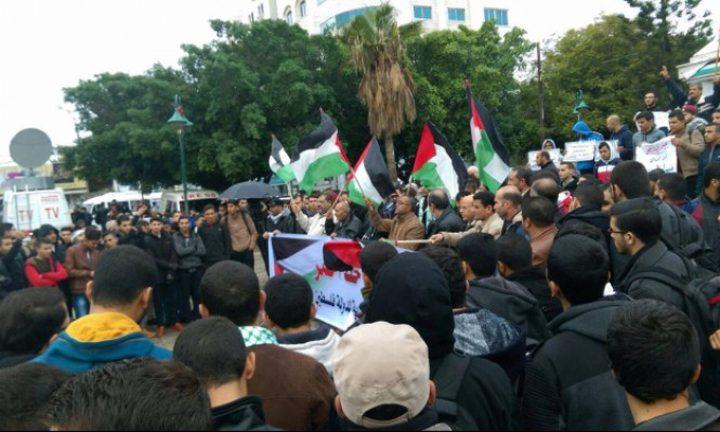 مظاهرات في اوسلو تنديدا بجرائم الاحتلال وبنقل السفارة الأميركية للقدس