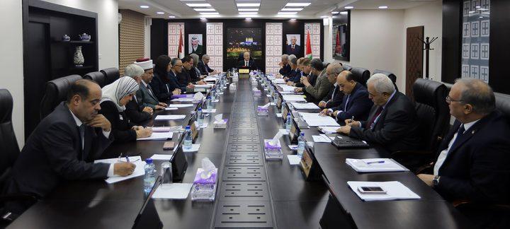 مجلس الوزراء يدعو إلى إنهاء الانقسام بكل وسيلة ممكنة