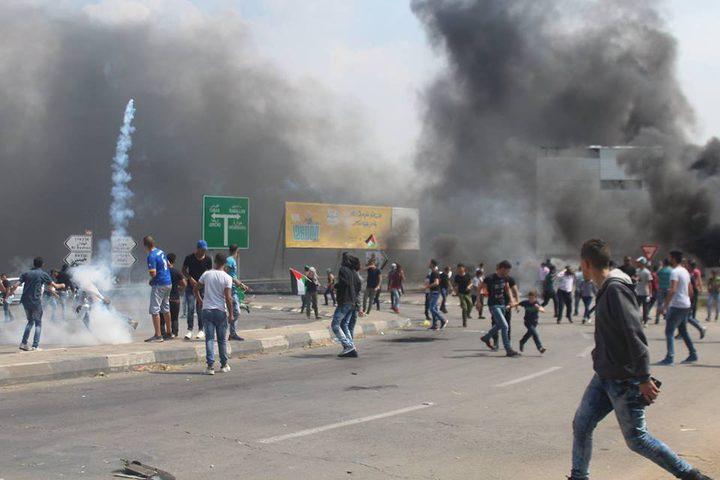 """اصابتان بالرصاص الحي و169 بـ""""المطاط"""" والغاز حصيلة المواجهات في نابلس"""
