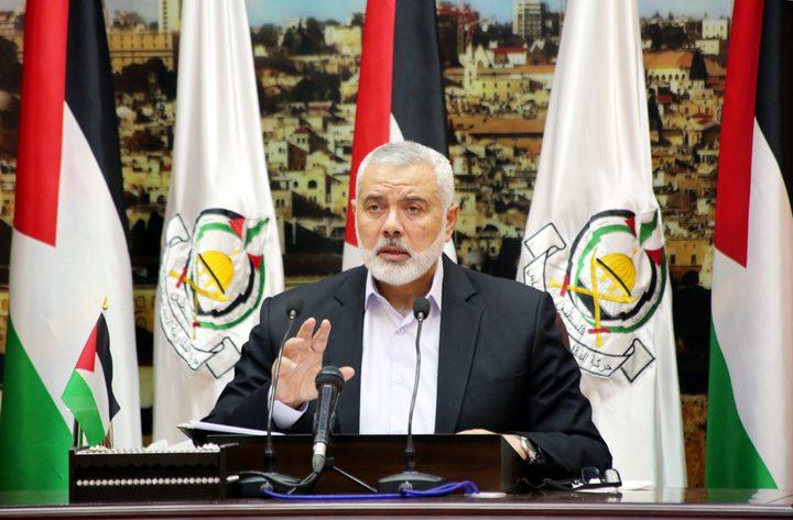 هنية: يجب على الاحتلال أن يحسب ألف حساب لغضب مقاومتنا
