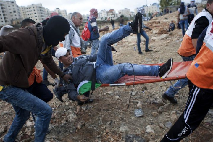 مواجهات مع الاحتلال في قرية بدرس