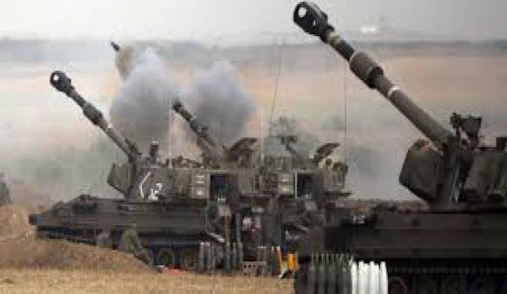 مدفعية الاحتلال تجدد قصفها لغزة