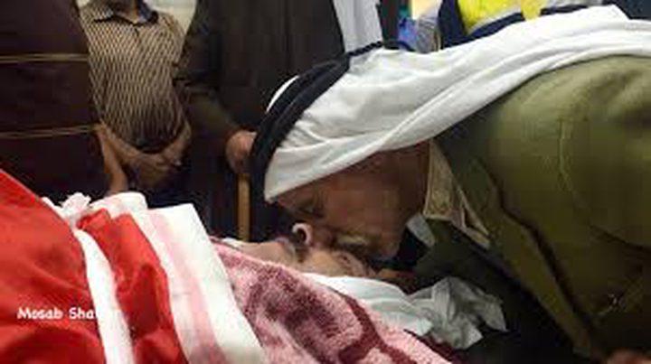 تشييع جثمان الشهيد إدريس جبارين في بلدة سعير