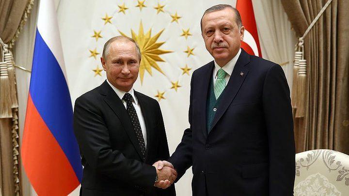 بوتين وأردوغان يبحثان تصاعد التوتر في غزة