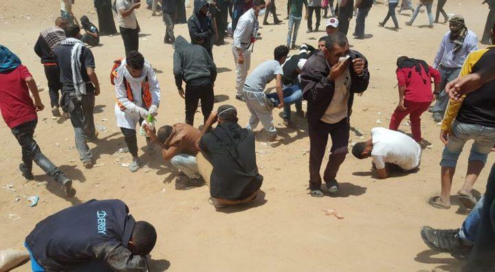 أكثر من 1000 طفل أصيبوا في مسيرات العودة