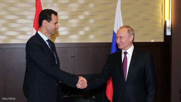 بوتن يضع شرطا لتفعيل العملية السياسية بسوريا