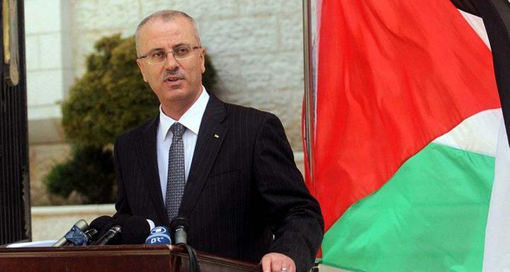 الحمد الله يبحث مع رئيس برلمان الجزائر ووزير خارجيتها آخر التطورات