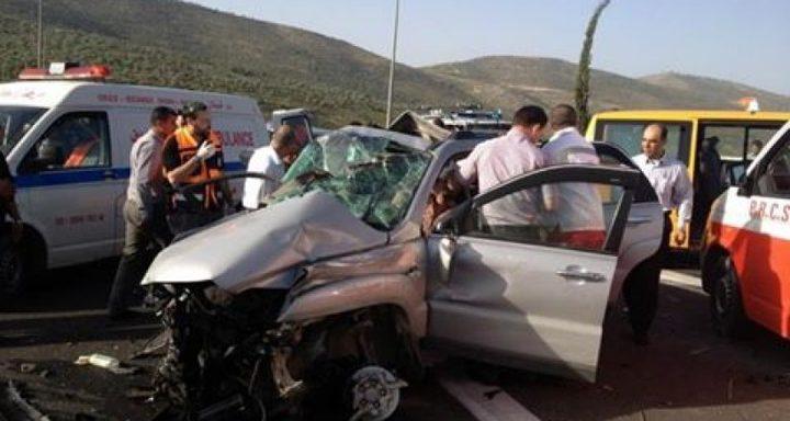 مصرع مواطن واصابة اخر في حادث سير شرق الخليل