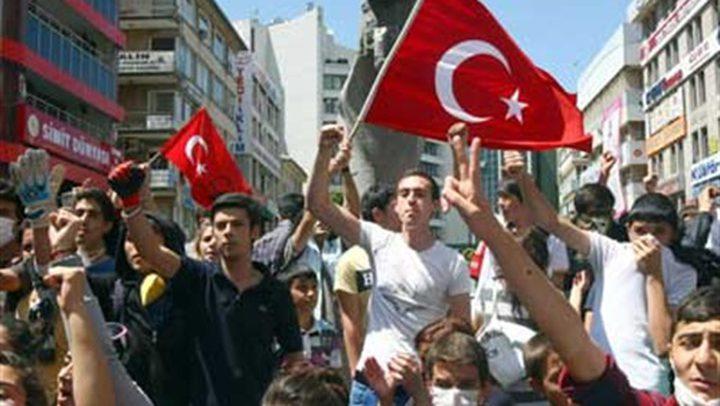 مئات الآلاف يتظاهرون في تركيا دعما لفلسطين