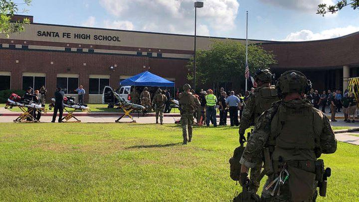 وسائل إعلام أمريكية: مقتل 8 أشخاص جراء إطلاق نار بمدرسة في ولاية تكساس