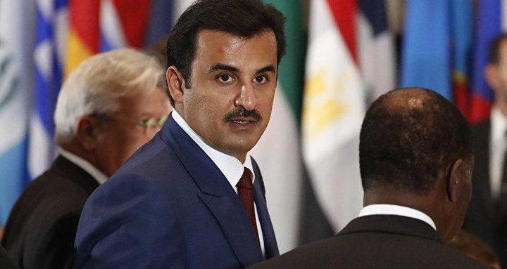 أمير قطر: لا يجوز أن تكون القضية الفلسطينية رهينة لخلافاتنا السياسية
