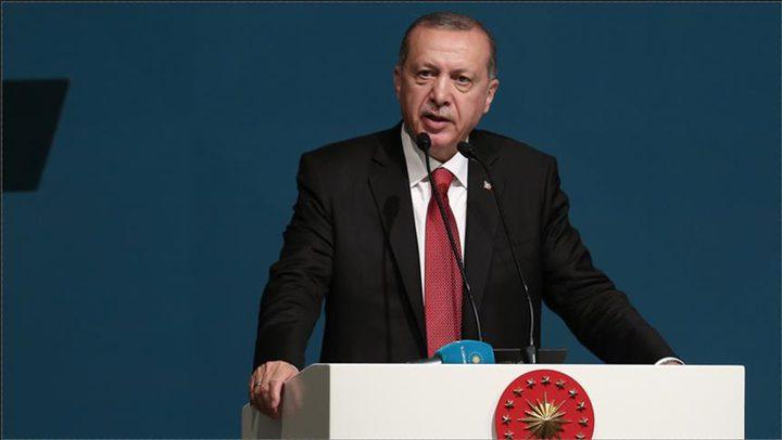 """أردوغان: يد أمريكا تلطخت بالدم الفلسطيني ودولة الإحتلال تمارس """"الإرهاب"""""""