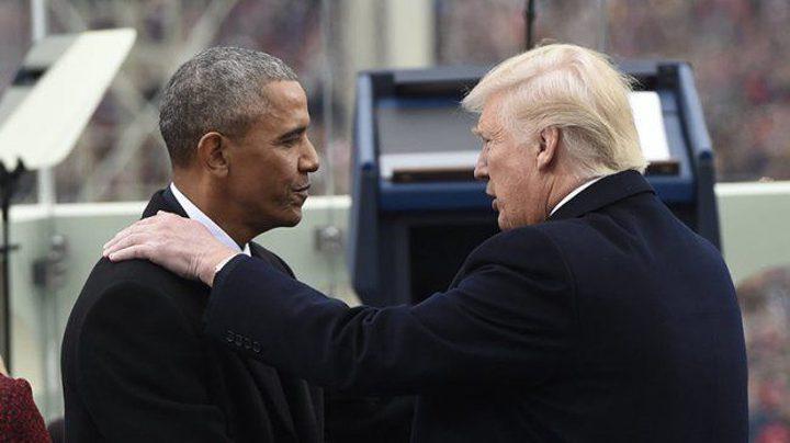 """ترامب يصف اوباما بـ""""الشخص المريض"""" ويهاجم الـ""""اف بي اي"""""""