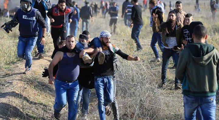 استشهاد مواطنين برصاص الاحتلال بقطاع غزة