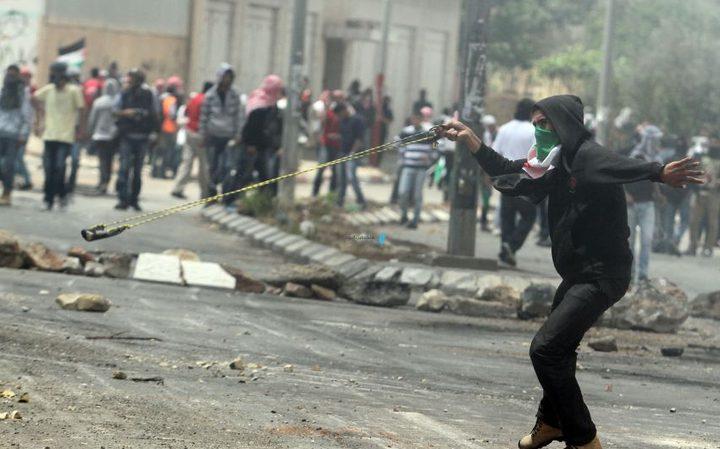 اعتقال شاب بعد اصابته في مواجهات ليلية بالقدس المحتلة