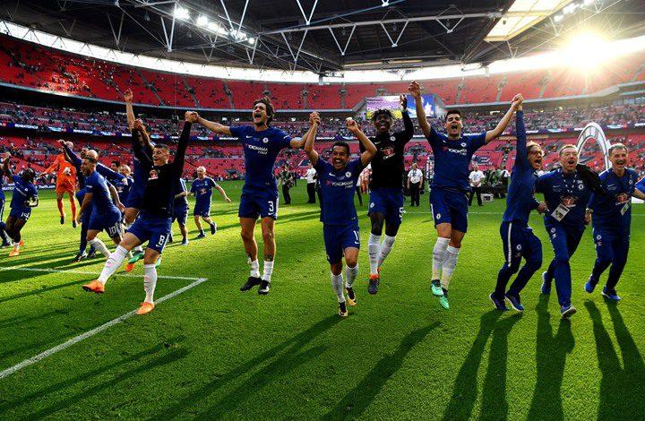 تشيلسي يتوج بكأس الاتحاد الإنجليزي للمرة 8 في تاريخه