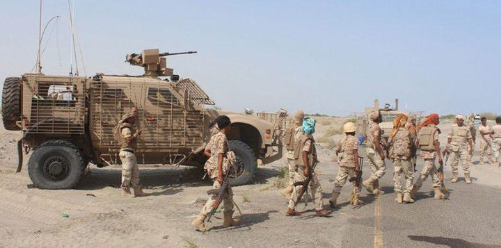 قوات الشرعية تتوغل في حرض وتسيطر على جبال النار