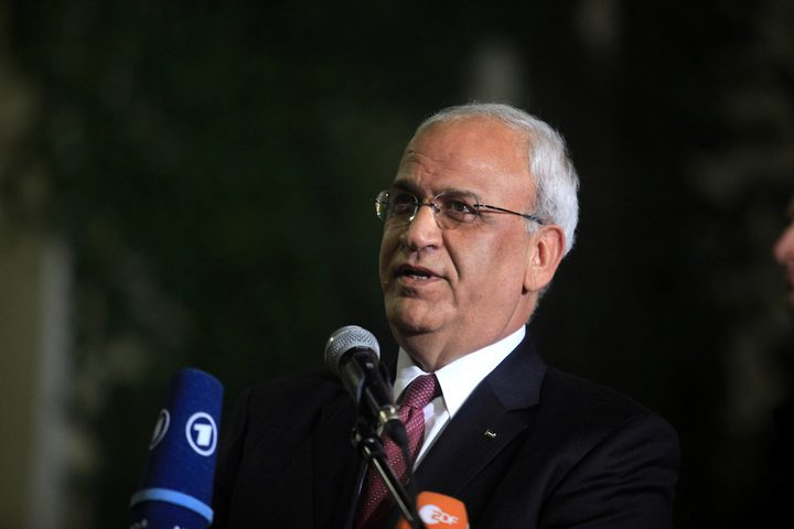 عريقات: رفض دولة الإحتلال للجنة التحقيق وعدم السماح لها إخفاء لجرائمها ضد الفلسطينيين