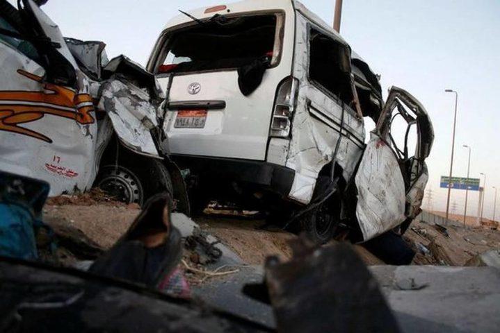 مصرع 14 في 4 حوادث سير بمصر