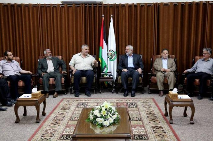 هنية يلتقي قيادات الهيئة الوطنية لمسيرة العودة في غزة