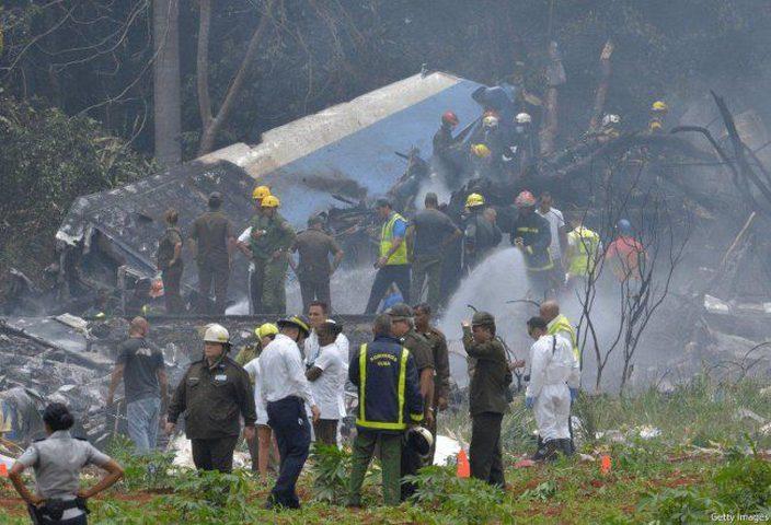 """حصيلة نهائية.. 110 قتلى و3 ناجين جراء كارثة """"طائرة كوبا"""""""