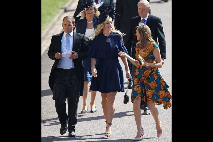 بالفيديو: حبيبة الأمير هاري السابقة حزينة في حفل زفافه وموجة سخرية منها
