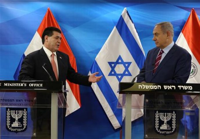 رئيس باراغواي يصل تل أبيب اليوم لافتتاح سفارة بلاده في القدس