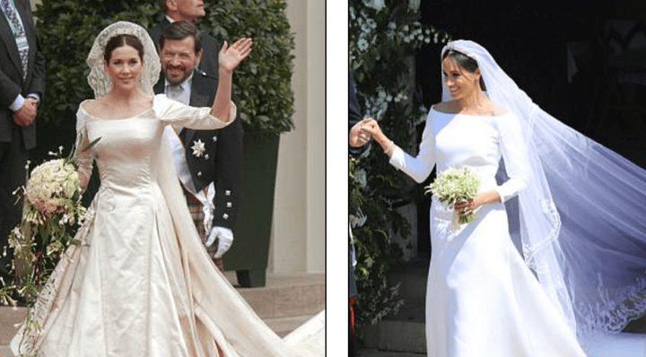 """عروس الأمير هاري متهمة بـ""""سرقة فستان الزفاف"""""""