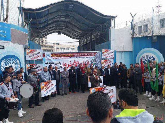 """موظفو """"الأونروا"""" في الأردن يبدأون إضراباً شاملاً عن العمل غدا"""