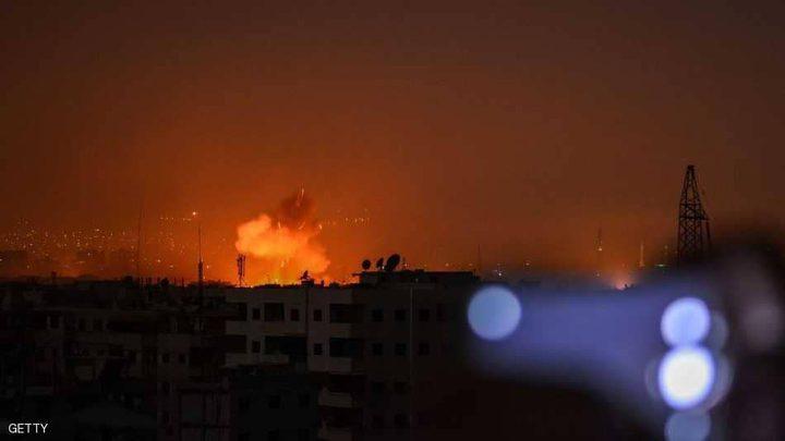 انفجارات قوية بغرفة عمليات إيرانية جنوبي دمشق