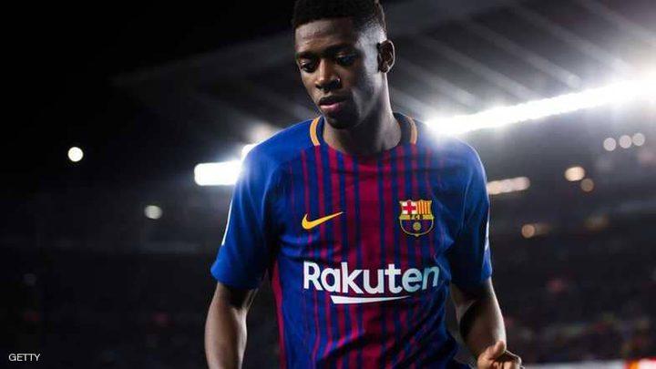 """ديمبيلي في برشلونة.. صدمة جديدة تنهي """"الموسم الكارثي"""""""