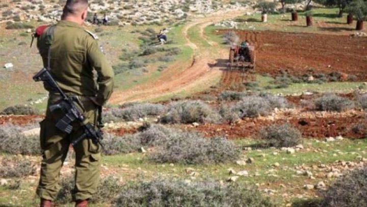 الاحتلال يخطر بإخلاء أراض جنوب بيت لحم